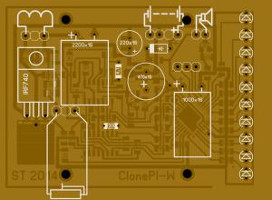 جهاز كشف المعادن Clone PI-W
